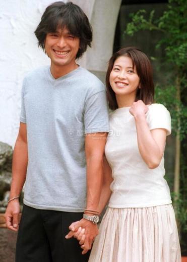 江口洋介と森高千里の結婚会見→離婚?子供や自宅&なれそめについて